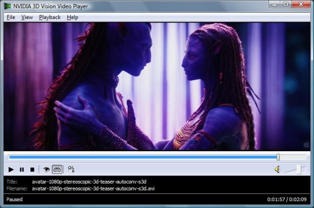 Avatar Teaser S3D