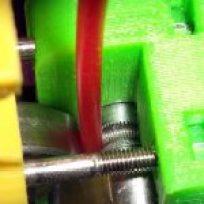 sem extrusão no início da impressão Sem extrusão no início da impressão Clean filament drive hobbed bolt 150x150