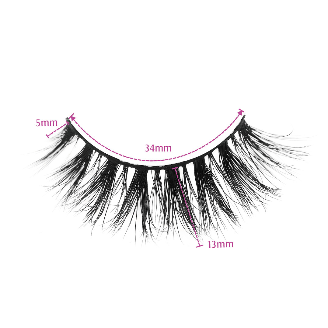 Best Mink False Lashes Wholesale Lilly Lashes CANNES