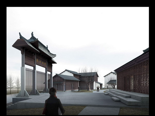 Of Chinese Buildings 3D Model DownloadFree 3D Models Download