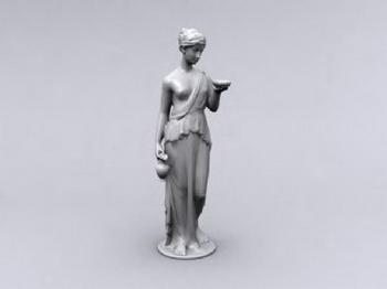 Odalisque Sculpture 3D Models 3D Model DownloadFree 3D