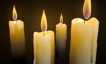 Burning candle 3D Model DownloadFree 3D Models Download