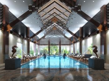 Indoor Swimming Pool 3d models 3D Model DownloadFree 3D