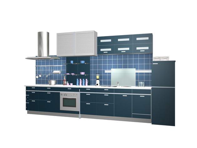 Builtin kitchens 3D Model DownloadFree 3D Models Download