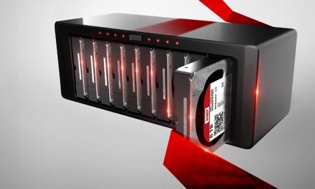 Жесткий диск WD Red Pro объемом 6 ТБ оценен производителем в $299