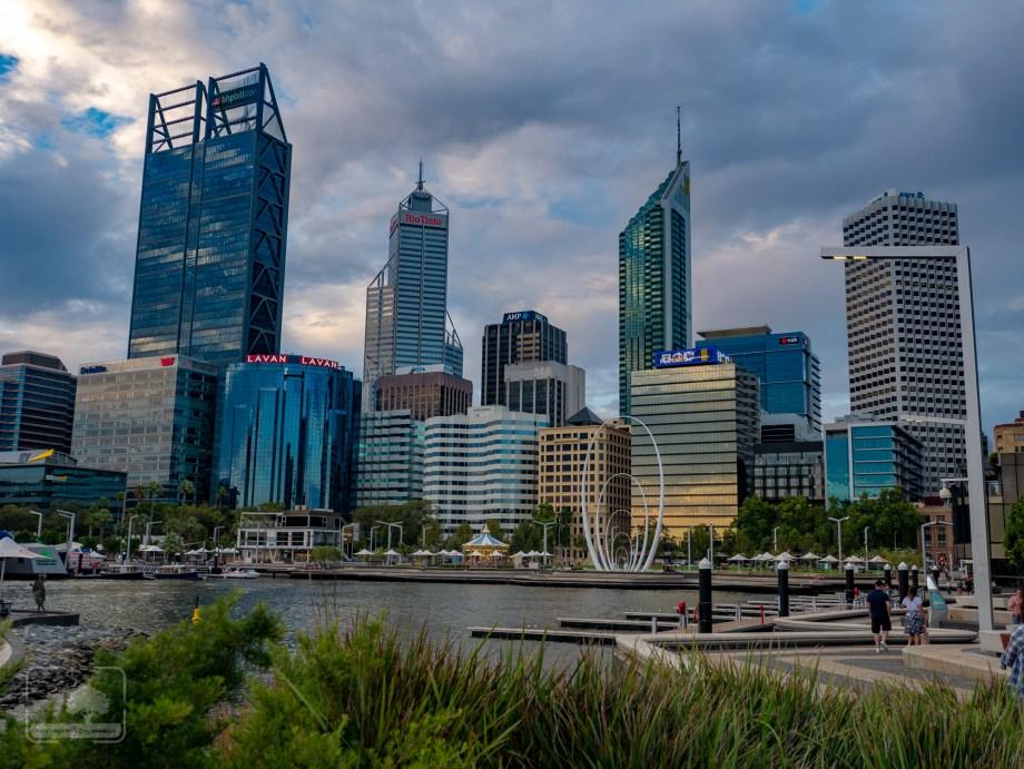 Perth - panorama miasta
