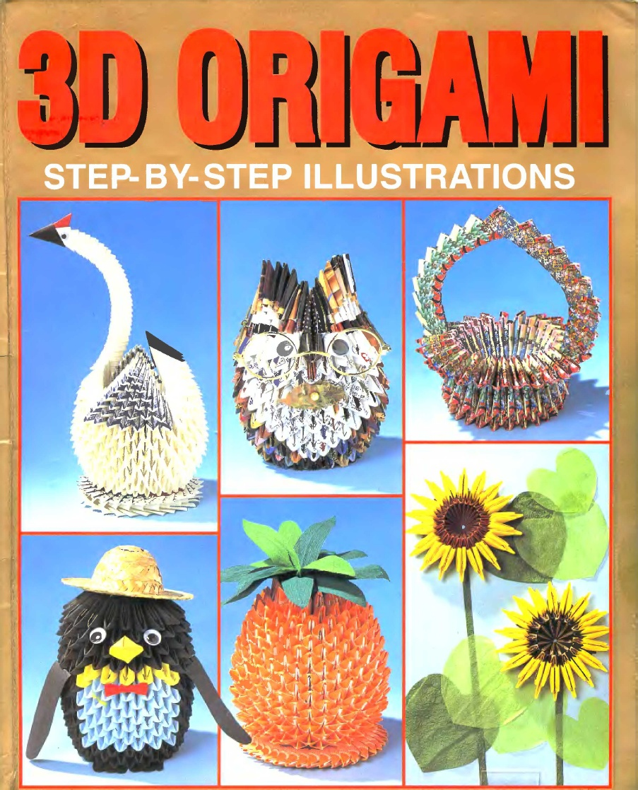 3d origami diagram animals how to wire car speakers amp book great installation of wiring on scribd com art hello kitty