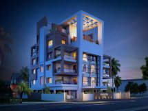 Modern Apartment Building Elevation Design
