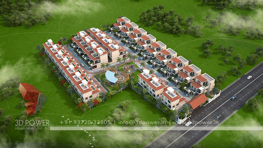 Gallery 3D Architectural Rendering Services 3D