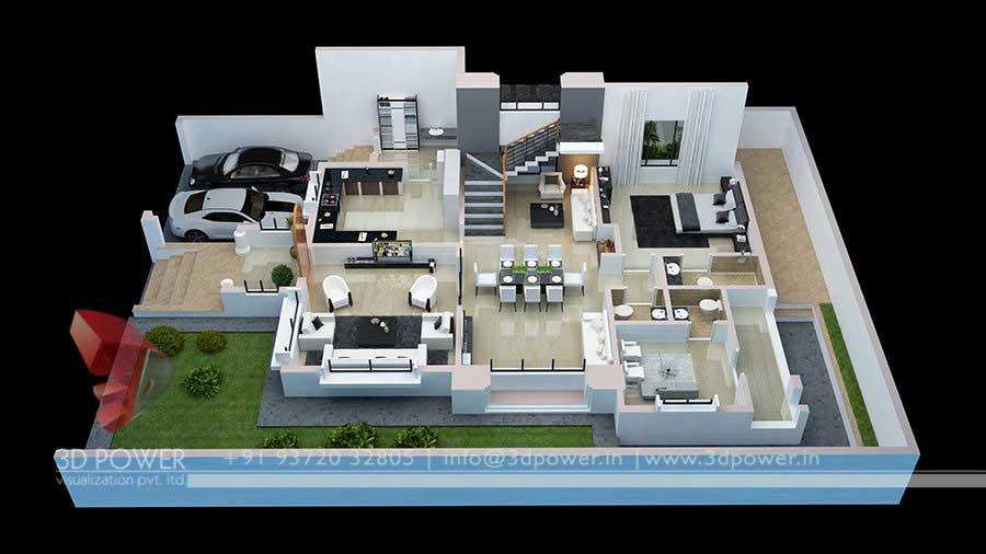 Cartoon Farm 3d Live Wallpaper 3d Floor Plan 3d Power