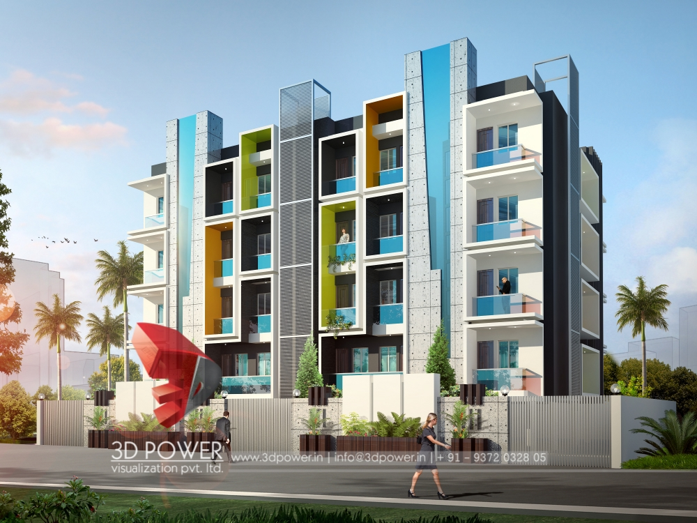 3D Architectural Apartment Rendering  Architectural