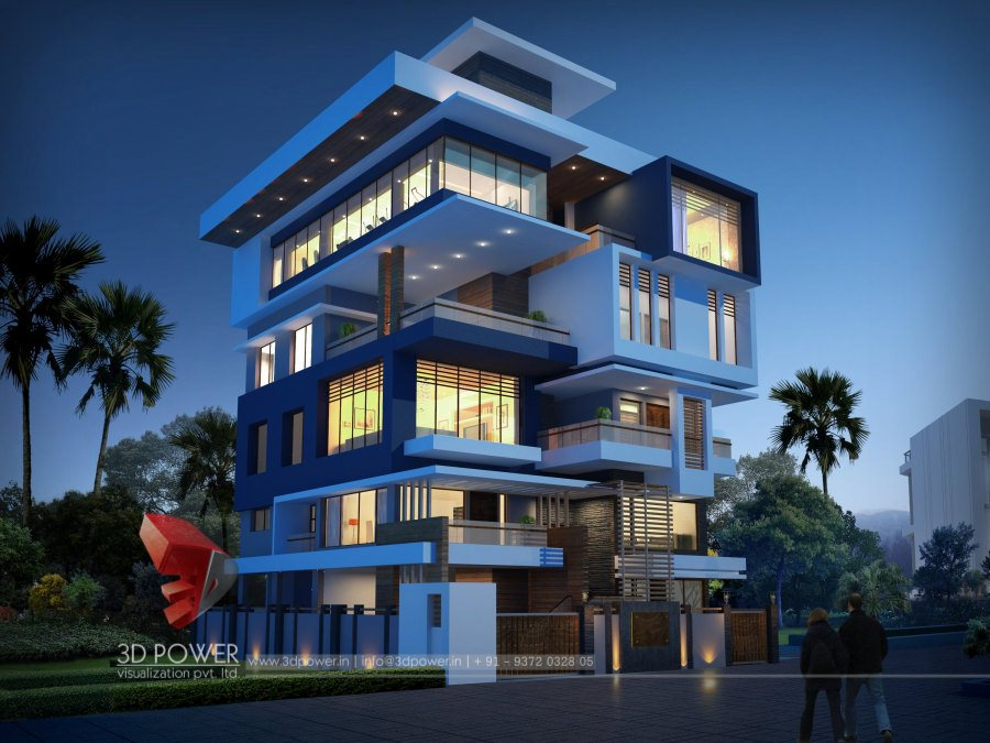 Architectural Rendering India 3D Power