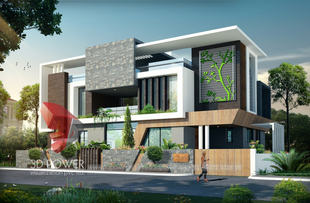 3D Exterior Rendering  3D Power