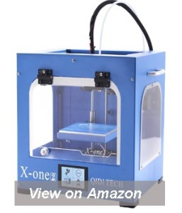 QIDI TECHNOLOGY New Generation 3D Printer:X-one2,Metal Frame Structure,Platform Heating