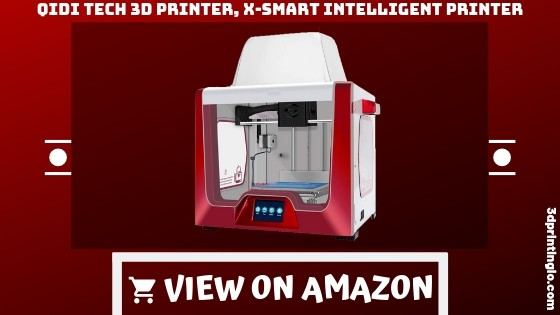 QIDI TECHNOLOGY 3D Printer, New Model: X-smart 3.5 Inch Touchscreen