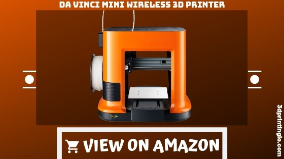 "Da Vinci mini Wireless 3D Printer-6""x6""x6"" Built Volume"