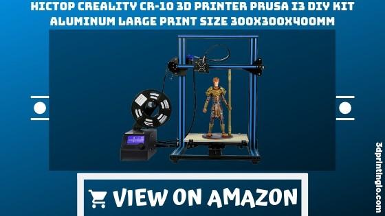 HICTOP Creality CR-10 3D Printer Review Prusa I3 DIY Kit Aluminum