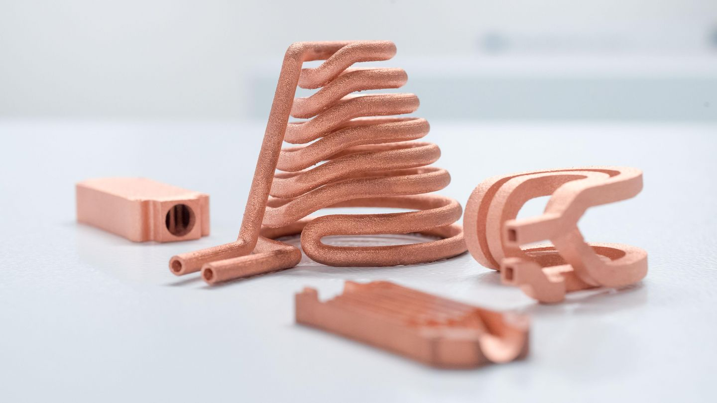 Trumpf Introduces Copper And Gold 3d Printing Enabled By