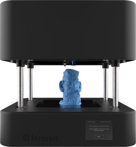 The Formon Core desktop 3D printer in active mode [Source: Formon]
