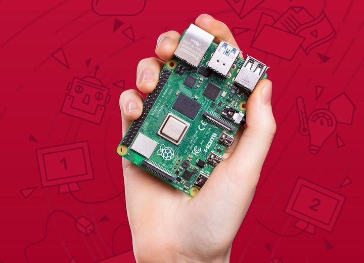 The Raspbery Pi 4 [Source: Raspberry Pi.org]