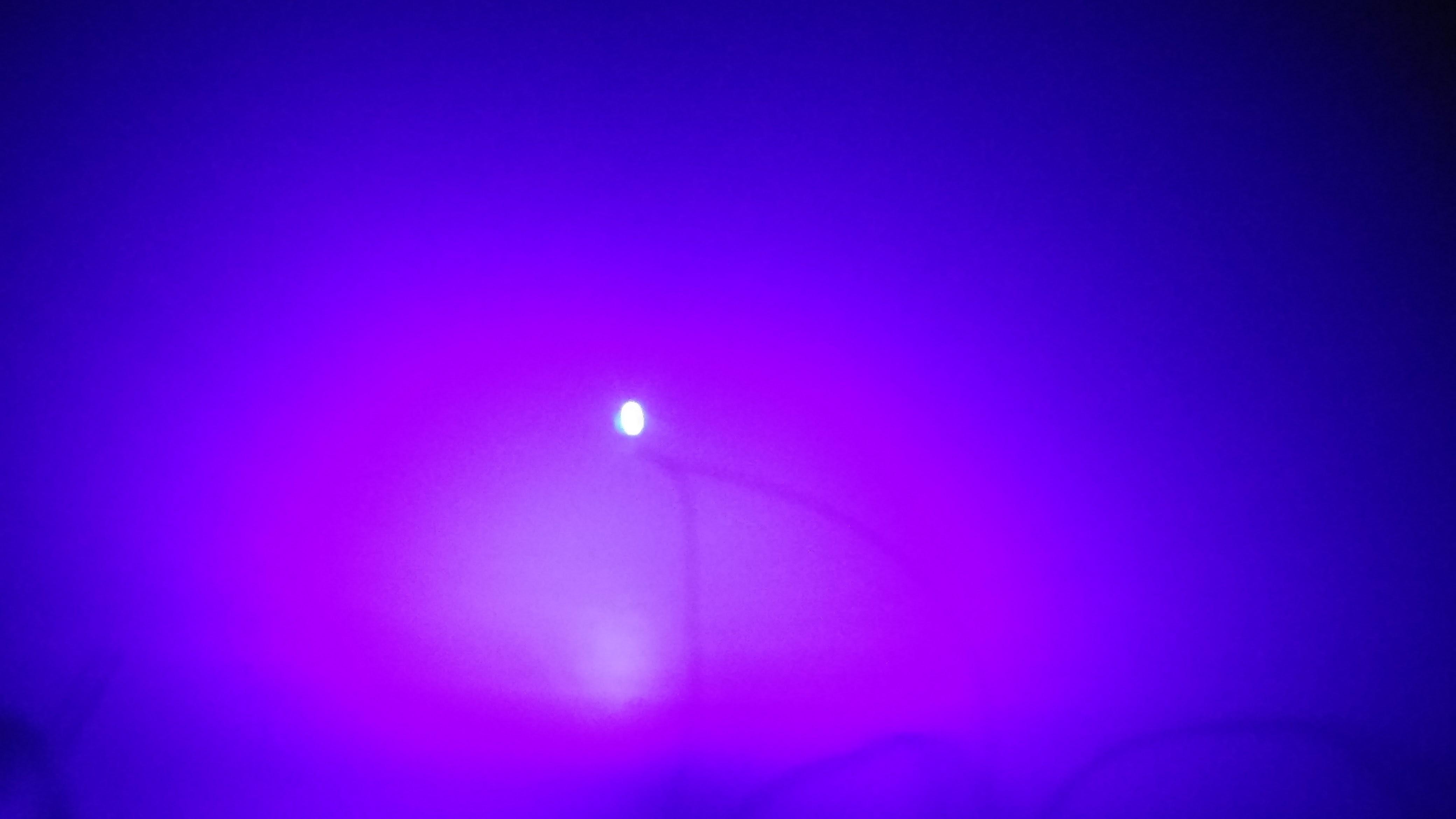 UV paars smd led met draad