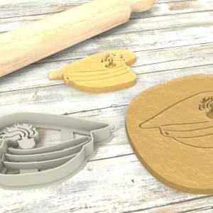 Cappello Carabiniere formina biscotti Cookie Cutter