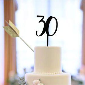 Cake Topper personalizzato numeri