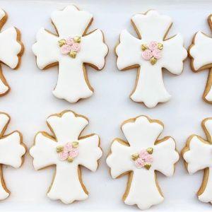 Croce Comunione formina biscotti