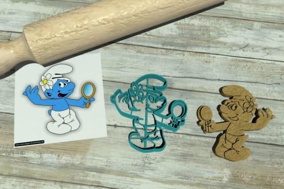 Puffo Vanitoso tagliapasta Puffi - The Smurfs