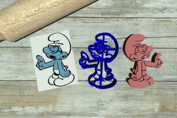 Puffo Quattrocchi - Brainy - The Smurfs