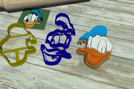 Tagliapasta Paperino Donald Duck