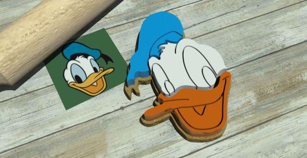 Donald Duck Cookie Cutter