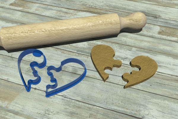 Love cookie cutters