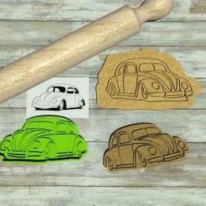 VW Beetle cookie cutter