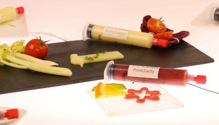 3d printed food paste