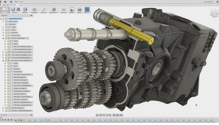 fusion 360 professional 3d software