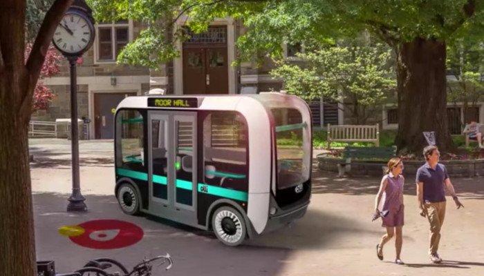 local motors olli 3d printed bus car