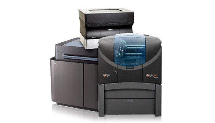 polyjet 3d printer objet geometries