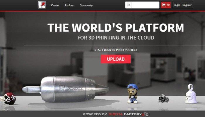 kraftwurx online 3d printing service