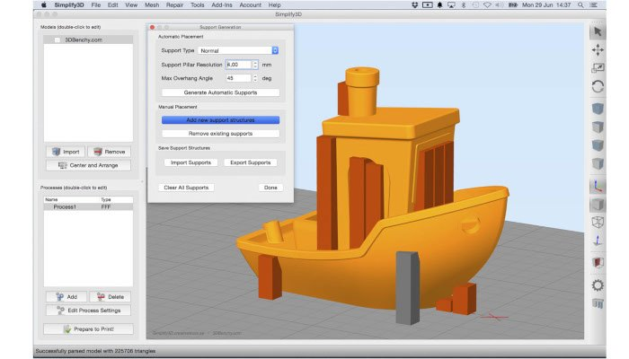 simplify3d 3d slicer printer software