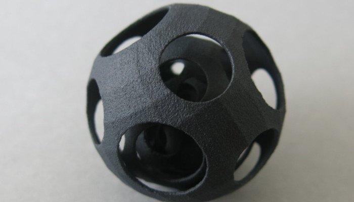 multi jet fusion 3d printed part
