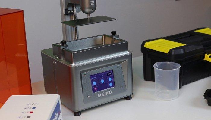 elegoo mars cheap 3d printer resin lcd