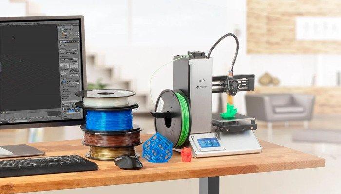 monoprice select mini v2 cheap 3d printer for beginners new makers