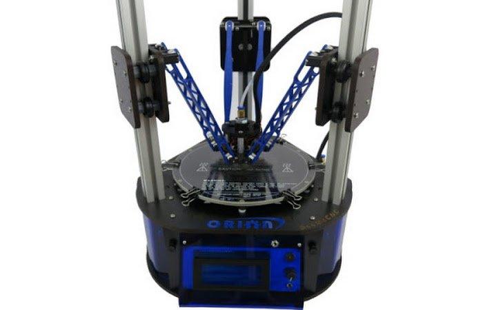delta 3d printer arms