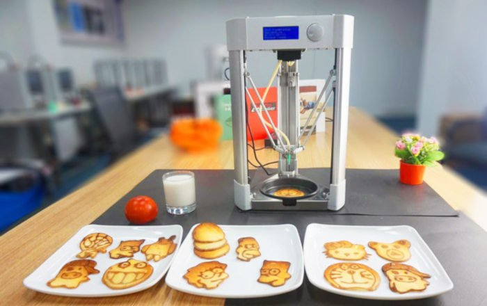 delta mmuse 3D printing food models of kids tv characters