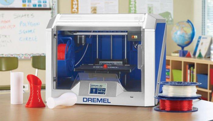 dremel digilab 3d40 edu for teaching kids about 3d printing