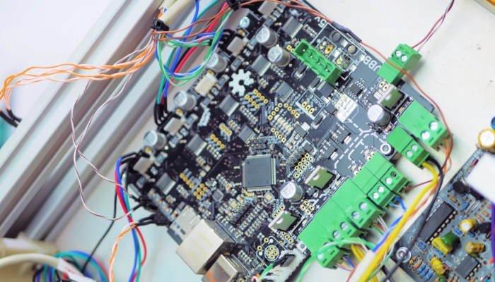 controller board of a 3d printer