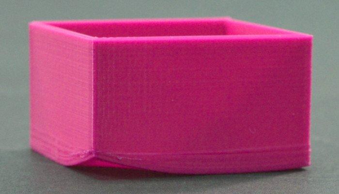 abs 3d printed part warping