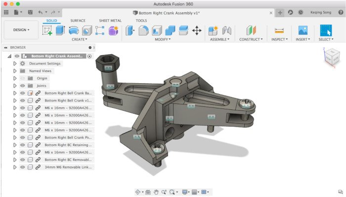 fusion 360 3d printer software