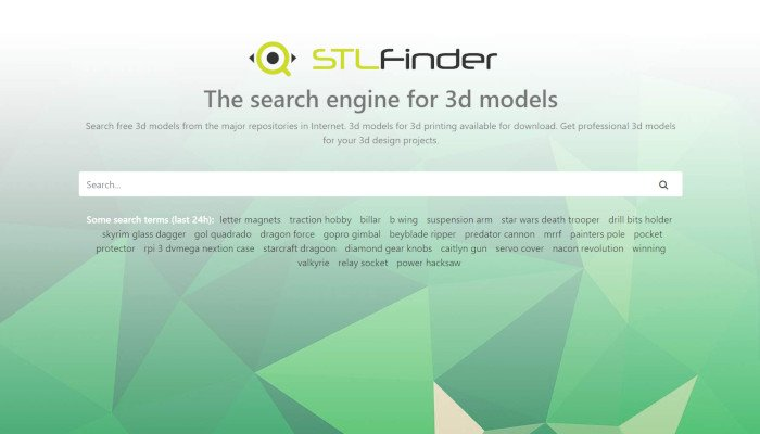 stlfinder stl file search engine